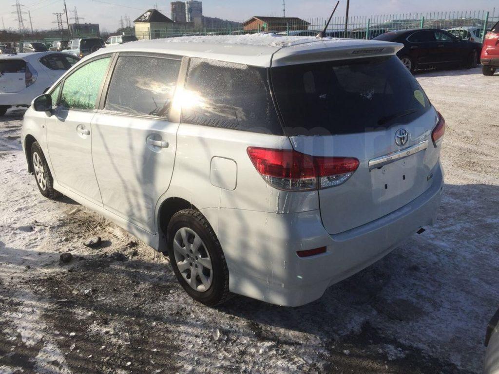 Toyota Wish, 2010 год