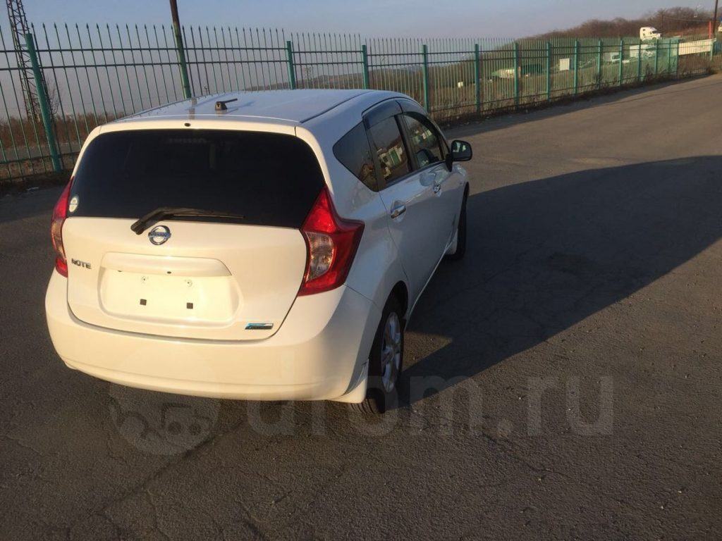 Nissan Note, 2013 год